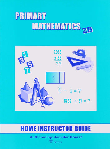 Primary Math Home Instructor's Guide 2B U.S. Edition - Learning Plus PH