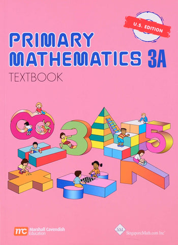 Primary Math Textbook 3A U.S. Edition - Learning Plus PH