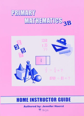Primary Math Home Instructor's Guide 3B U.S. Edition - Learning Plus PH