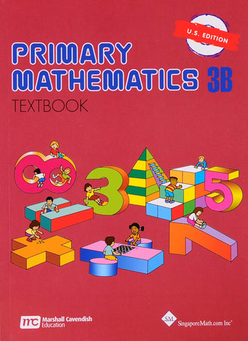 Primary Math Textbook 3B U.S. Edition - Learning Plus PH