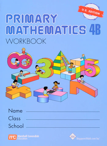 Primary Math Workbook 4B U.S. Edition - Learning Plus PH