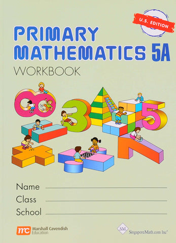 Primary Math Workbook 5A U.S. Edition - Learning Plus PH