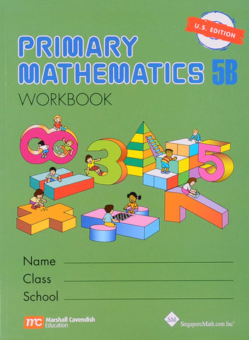Primary Math Workbook 5B U.S. Edition - Learning Plus PH