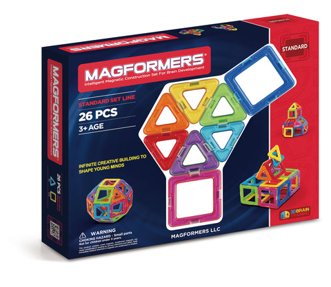 Magformers Rainbow 26-pc Set - Learning Plus PH