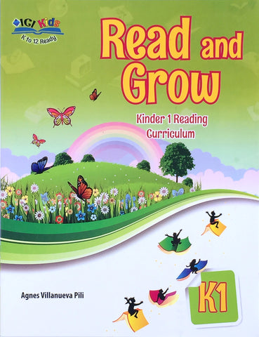 Read and Grow K1 Set (Textbook, TM) - Learning Plus PH