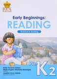 Early Beginnings: Reading K2 Set (TB, TM) - Learning Plus PH
