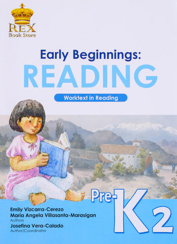 Early Beginnings: Reading K2 (TB, TM) - Learning Plus PH