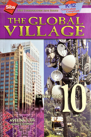 Sibs Communication Arts Series (SCAS): The Global Village 10 Set (TB, TM) - Learning Plus PH