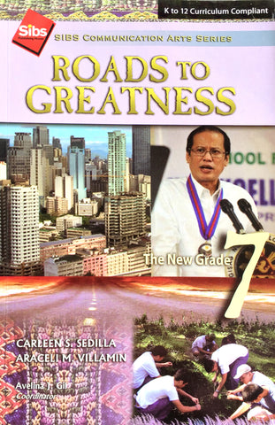Sibs Communication Arts Series (SCAS): Roads to Greatness 7 Set (TB, TM) - Learning Plus PH