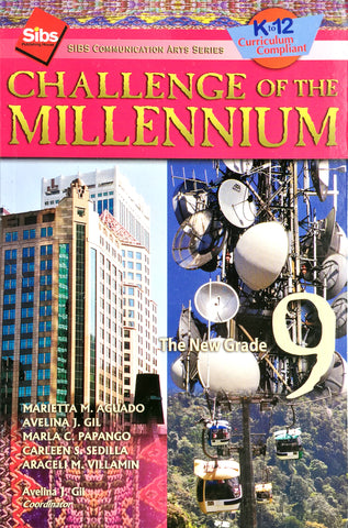 Sibs Communication Arts Series (SCAS): Challenge of the Millennium 9 Set (TB, TM) - Learning Plus PH