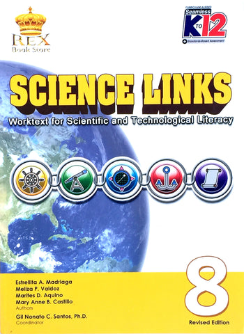 Science Links 8 Set (Textbook, TM) - Learning Plus PH
