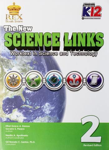 The New Science Links 2 Set (Textbook, TM) - Learning Plus PH