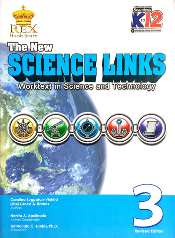 The New Science Links 3 Set (Textbook, TM) - Learning Plus PH