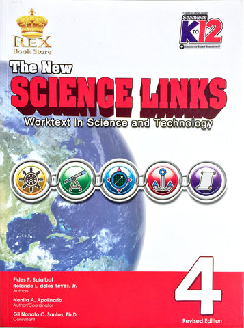 The New Science Links 4 Set (Textbook, TM) - Learning Plus PH