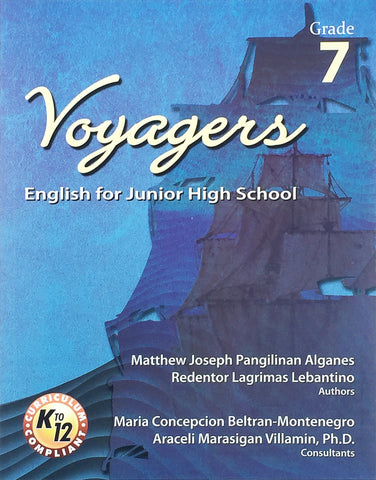 Voyagers: English for Junior High School 7 Set (TB, TM) - Learning Plus PH