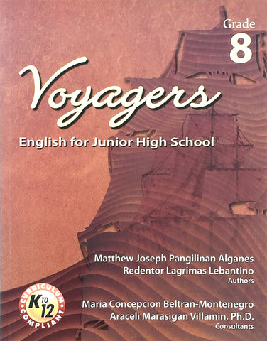 Voyagers: English for Junior High School 8 Set (TB, TM) - Learning Plus PH