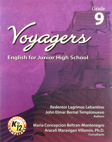 Voyagers: English for Junior High School 9 Set (TB, TM) - Learning Plus PH