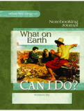 What on Earth Can I Do? Notebooking Journal - Learning Plus PH