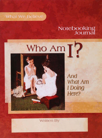Who am I? Notebooking Journal - Learning Plus PH