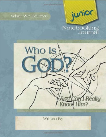 Who is God? Junior Notebooking Journal - Learning Plus PH