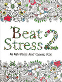 Beat Stress 2 - An Anti-Stress Adult Coloring Book - Learning Plus PH