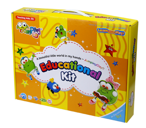 Jumping Clay Educational Set (Box) - Learning Plus PH