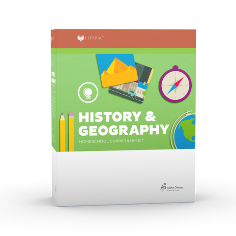 AOP LIFEPAC History and Geography Set 0215 - Learning Plus PH