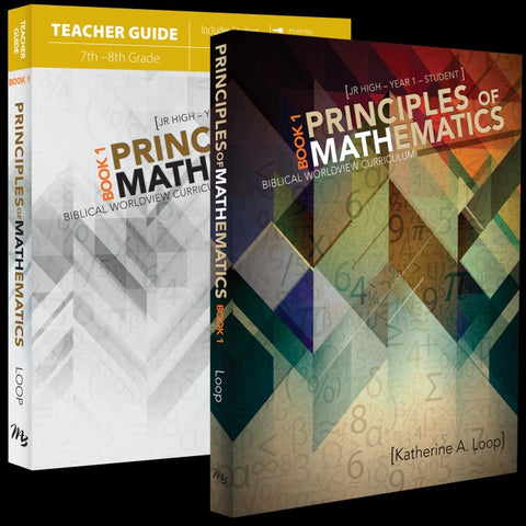 Principles of Mathematics Book 1 Set (For Grade 7)
