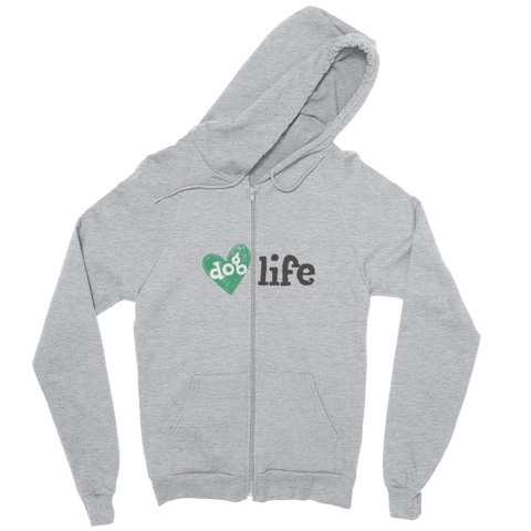 Dog Life Zip Up Hoodie