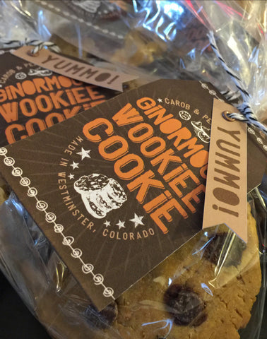 Ginormous Wookiee Cookies - 4 Pack