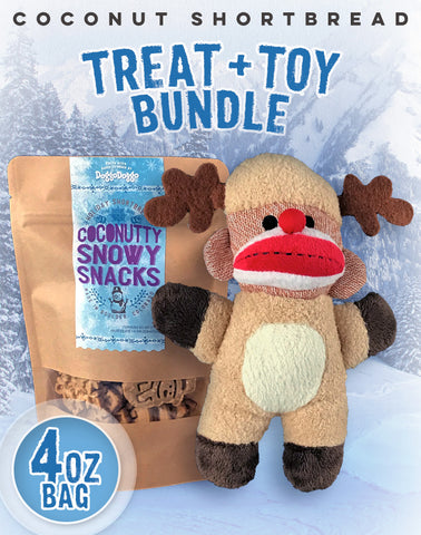 Coconut Shortbread + Toy Bundle (4oz)