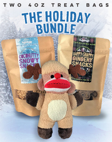 The Holiday Bundle (two 4oz bags + toy)