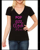Pop Fizz Clink Women's V-neck Shirt