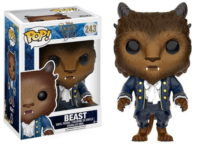 Disney: Beauty and the Beast - Beast Pop! Vinyl Figure - More Toys Malaysia