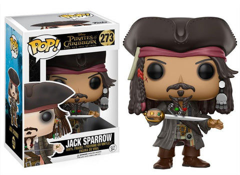 Pirates of The Caribbean: Dead Men Tell No Tales - Jack Sparrow Pop! Vinyl Figure