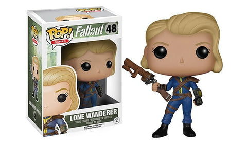 Games: Fallout - Female Lone Wanderer Pop! Vinyl Figure - More Toys Malaysia