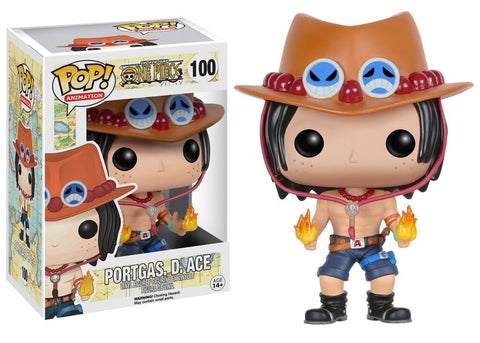Animation: One Piece - Portgas. D. Ace Pop! Vinyl Figure - More Toys Malaysia