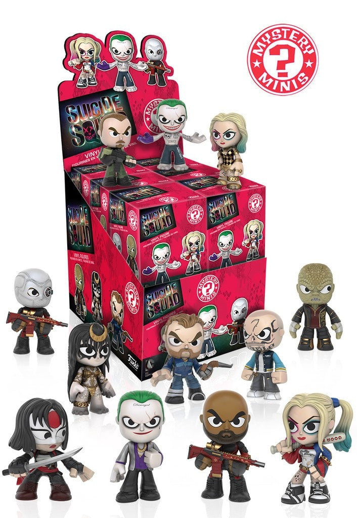 DC Heroes: Suicide Squad - Mystery Minis (1 blind box) - More Toys Malaysia