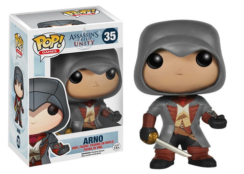 Games: Assassin's Creed - Arno Pop! Vinyl Figure - More Toys Malaysia