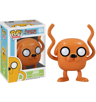 TV: Adventure Time - Jake Pop! Vinyl Figure - More Toys Malaysia