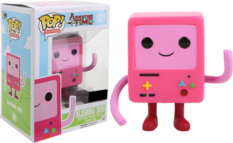 TV: Adventure Time - Blushing BMO Pop! Vinyl Figure - More Toys Malaysia
