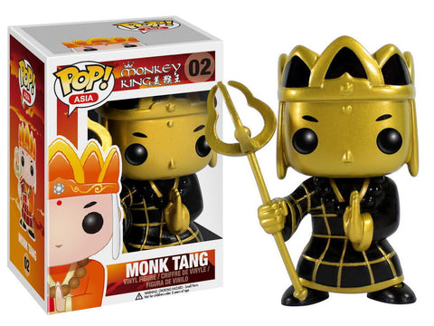Asia - Monk Tang Gold (Exclusive) Pop! Vinyl Figure - More Toys Malaysia
