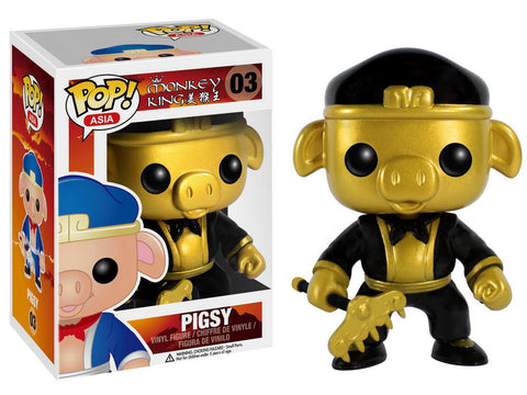 Asia - Pigsy Gold (Exclusive) Pop! Vinyl Figure - More Toys Malaysia