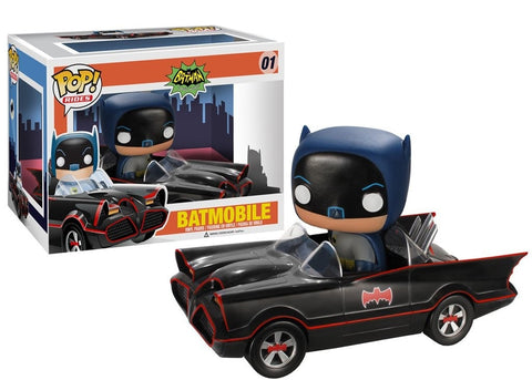 DC - 1966 Batmobile Pop! Ride Vinyl Figure - More Toys Malaysia