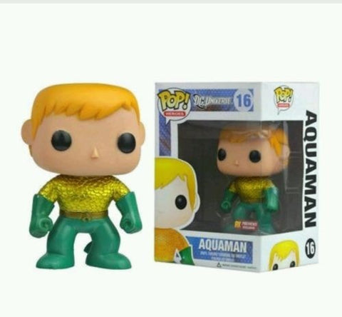 DC Heroes - Aquaman PX Exclusive Pop! Vinyl Figure - More Toys Malaysia