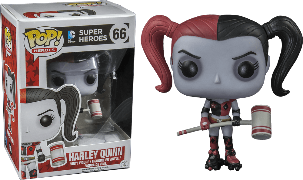 DC Heroes - Roller Derby Harley Quinn Pop! Vinyl Figure - More Toys Malaysia