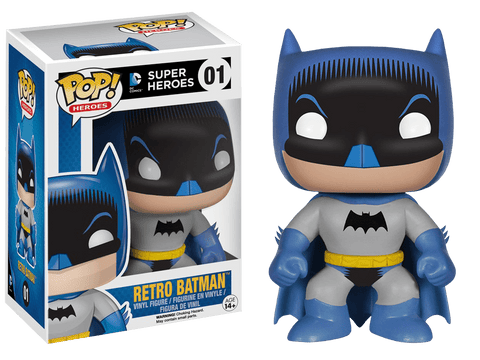 DC Heroes - Retro Batman Pop! Vinyl Figure - More Toys Malaysia