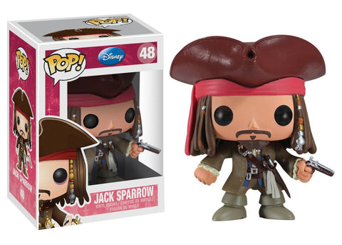 Disney Classic - Jack Sparrow Pop! Vinyl Figure - More Toys Malaysia