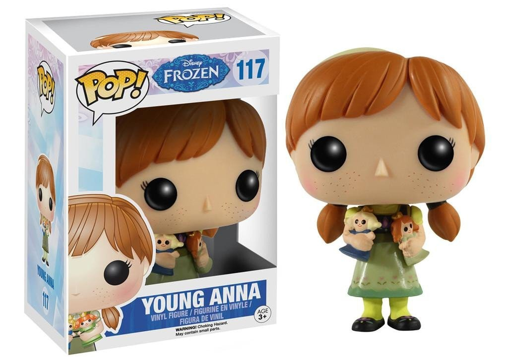 Disney: Frozen - Young Anna Pop! Vinyl Figure - More Toys Malaysia