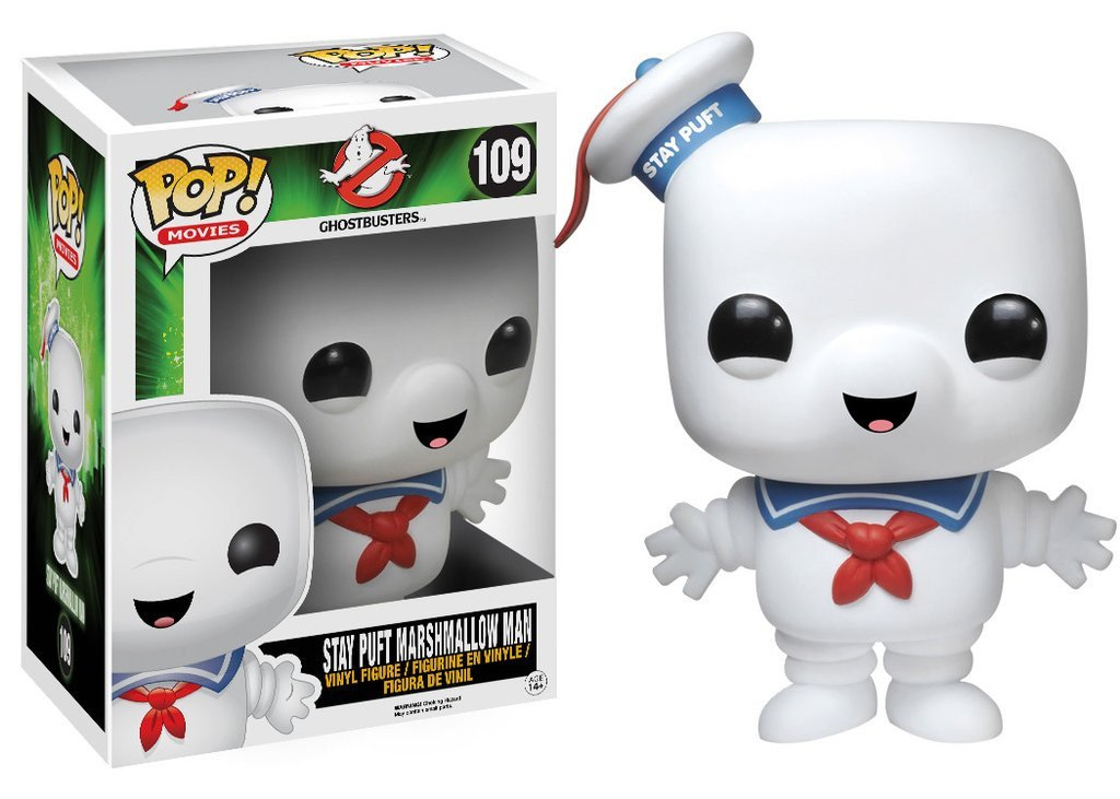 Movies: Ghostbusters - Stay Puft Marshmallow Man 6 Inch Pop! Vinyl Figure - More Toys Malaysia
